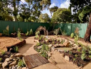 after - Sensory Garden